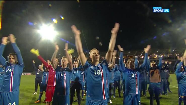 Islandczycy świętują awans na mundial