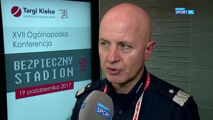 Komendant Główny Policji: Problemem jest to, co dzieje się poza stadionem