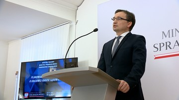21-04-2017 09:52 Ziobro: jestem przekonany, że prezydent poprze reformę KRS