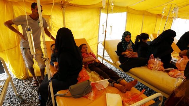 Jemen: Już ponad 300 tysięcy osób zarażonych cholerą