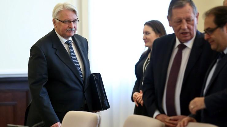 Waszczykowski: Rosja stanowi zagrożenie egzystencjalne