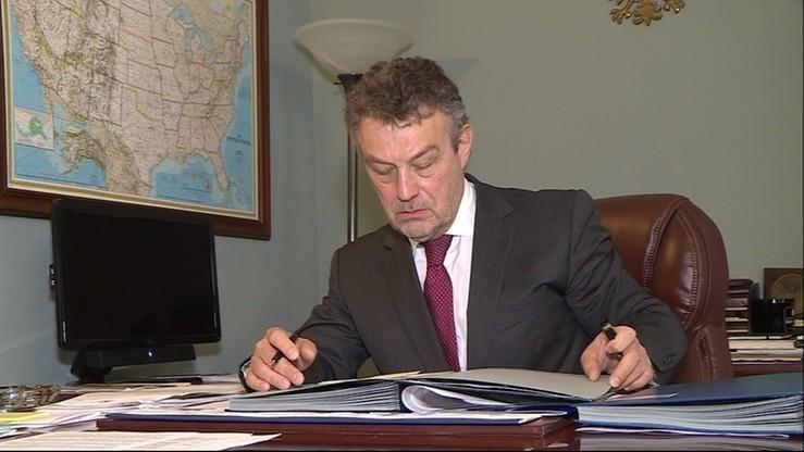 MSZ: ambasador Schnepf pobierał dodatek na utrzymanie rodziny na podstawie pisemnego oświadczenia