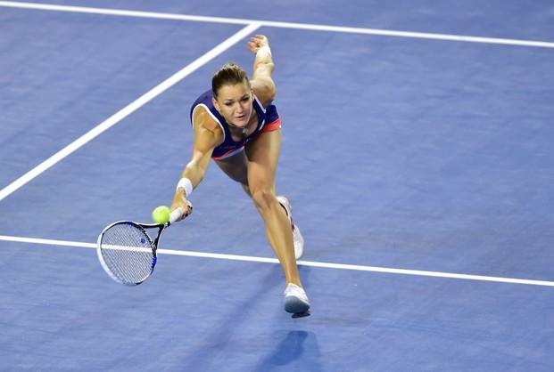 Agnieszka Radwańska odpadła w 1/8 finału Australian Open