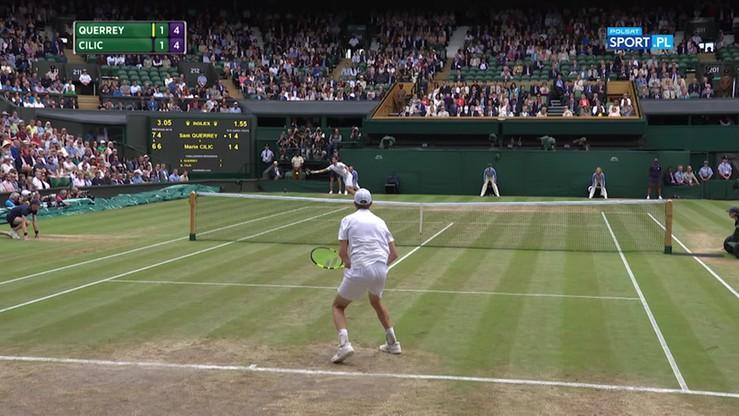Najładniejsze akcje Wimbledonu - 14.07