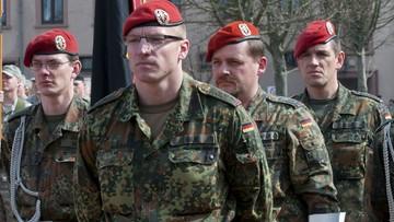 """12-05-2016 12:41 Niemcy powiększają armię """"ze względu na dzisiejszą sytuację"""". Prasa chwali te plany"""
