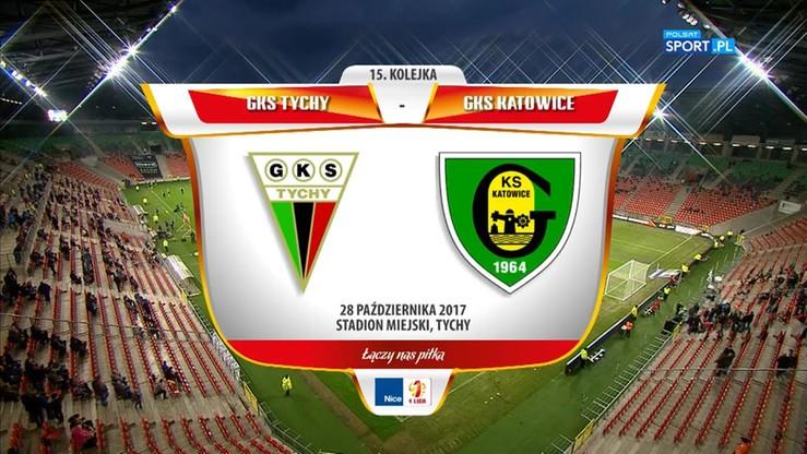 GKS Tychy - GKS Katowice 1:0. Skrót meczu