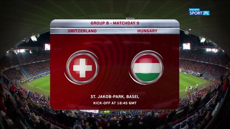 Szwajcaria - Węgry 5:2. Skrót meczu