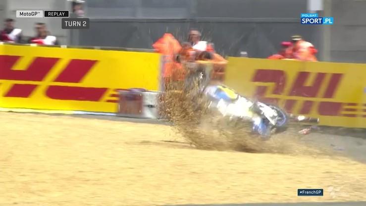 MotoGP: Okropna kraksa Millera na sesji treningowej