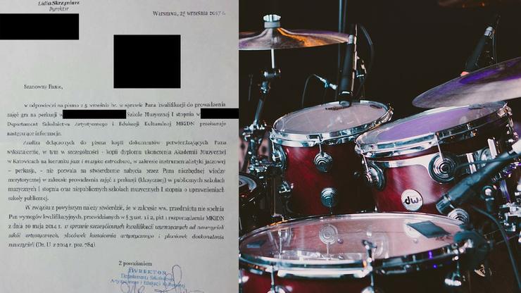 """""""Nie nabyli wiedzy merytorycznej"""". Studia w akademii muzycznej nie wystarczą, aby uczyć w szkole muzycznej"""
