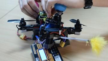 19-11-2016 22:06 Robot-zapylacz powstał w warszawskim laboratorium. Może zastąpić pszczoły