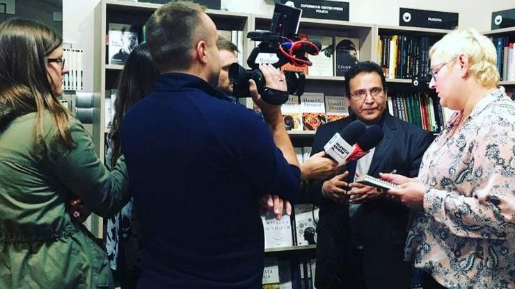 Prześladowany libijski poeta i filozof zamieszkał czasowo w Krakowie