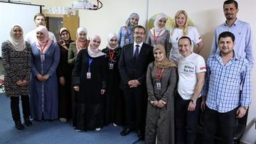 18-05-2016 17:29 Polska przychodnia w Jordanii. Pomoże ofiarom wojny w Syrii