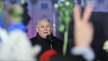 """""""To jest nielegalne. To przyjęcie zasady, kto silniejszy, ten lepszy"""". Jarosław Kaczyński o kontrmanifestacji w miesięcznicę"""