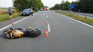 03-08-2017 13:20 Dziesięciu motocyklistów zginęło na Śląsku. Tragiczny lipiec