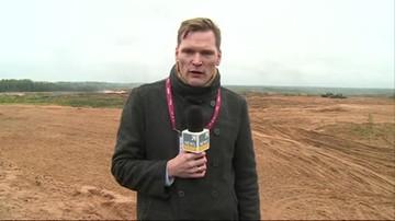 Trwa kluczowa faza manewrów Zapad-2017. Na poligonie był korespondent Polsat News w Moskwie.