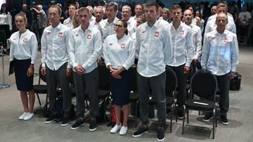2016-07-21 Rio 2016: Włoszczowska i część żeglarzy po ślubowaniu