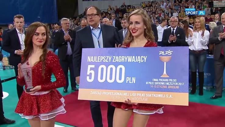 MVP Pucharu Polski dla Konarskiego! Nagrody indywidualne