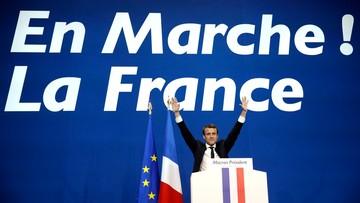 Sondaż: w II turze wyborów Macron zdobędzie 61 proc. głosów