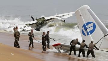 Samolot runął do morza. Są zabici i ranni