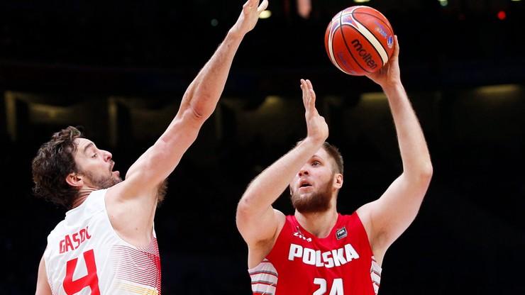 EuroBasket: Hiszpanie jednak za mocni. Koniec przygody Polaków na ME