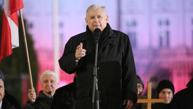 Prezes PiS: grają Odę do radości, by uniemożliwiać korzystanie Polakom z ich praw