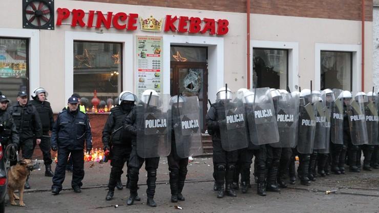 28 osób zatrzymanych po zamieszkach w Ełku