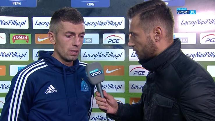 2016-09-22 Hanzel: Po pierwszym golu dla Lecha nasz plan upadł