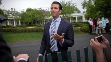 Syn Trumpa chce wyjaśnić sprawę swych rosyjskich kontaktów