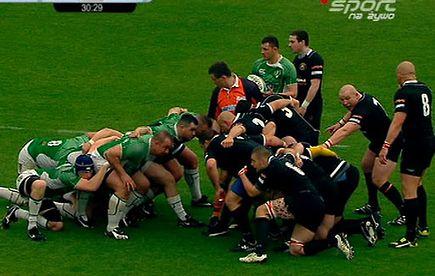 rc lechia gdańsk rc arka gdynia i połowa rugby sport ipla tv