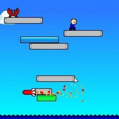 Sky Jump Survival Battle