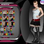 Dressing Hannah Montana