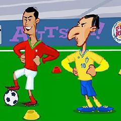 Ibrahimovic vs Ronaldo Puzzle