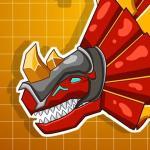 Steel Dino Toy Mechanic Triceratops