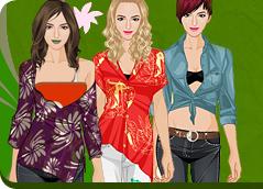 Czy Ty też naśladujesz innych? Nasze gry o modzie pozwolą Ci się przeobrazić w całkowicie inną osobę. Znajdź swoją ulubioną grę w bazie liczącej 105 gry. Przykładowe gry: Dress Paris in Jail, Sexy Jessica Alba Dress Up.