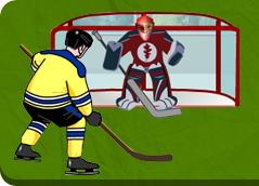 Hokej jest to gra zespołowa rozgrywana na lodowisku. Na łamach Poszkole zagrasz w hokeja zespołowo oraz pojedynczo - strzelając rzuty karne. Zagraj w 15 gry.