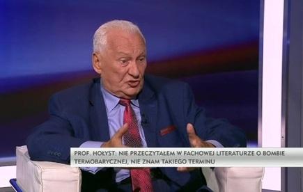 Rozmowa dnia - prof. Brunon Hołyst