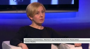 Rozmowa dnia - dr Anna Materska-Sosnowska, Ewa Siedlecka