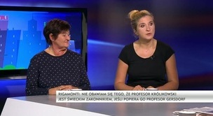 Szpile - prof. Magdalena Środa, Magdalena Rigamonti