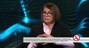 Debata Piotra Gemabrowskiego - Julia Pitera oraz Joanna Scheuring-Wielgus