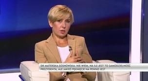 Rozmowa dnia - dr Anna Materska-Sosnowska