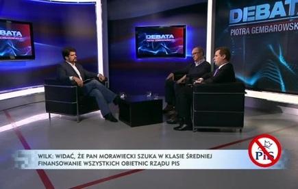 Debata Piotra Gembarowskiego - Jacek Wilk, Włodzimierz Czarzasty