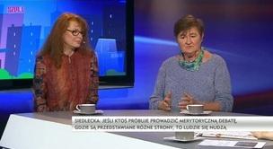 Szpile - Ewa Siedlecka, prof. Magdalena Środa