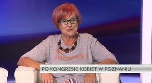 Rozmowa dnia - prof. Małgorzata Fuszara, Ewa Sufin-Jacquemart