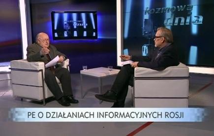 Rozmowa dnia - Stanisław Ciosek