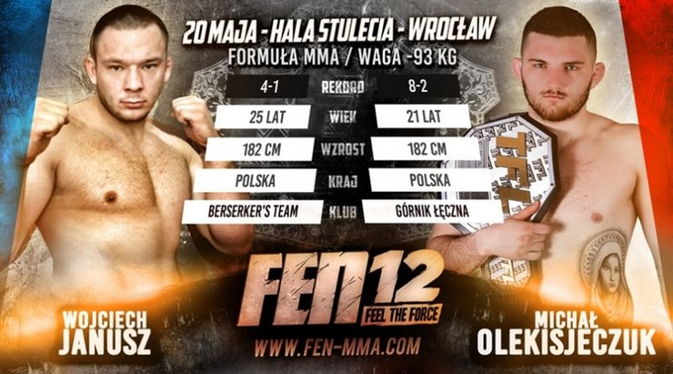FEN 12: Kulkinio vs The Hammer na gali we Wroclawiu