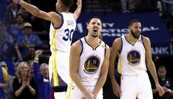 2017-03-17 NBA: Wygrane Warriors i Cavaliers