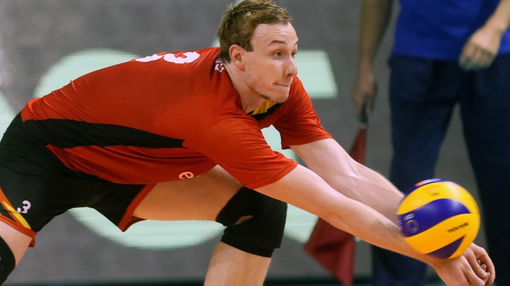 Belgowie z Deroo podczas Eurovolley 2017