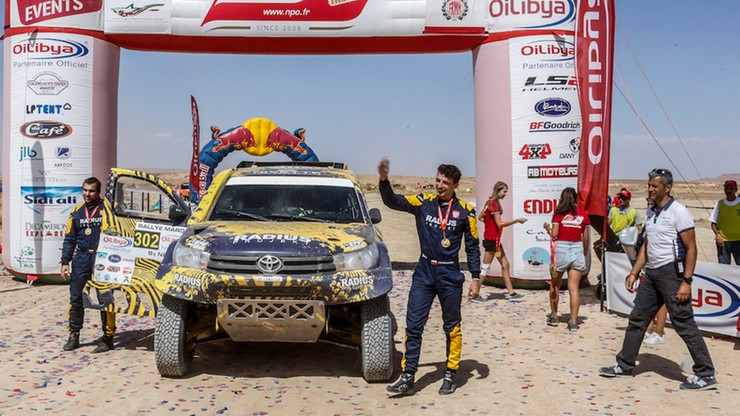 28-letni Polak na podium Pucharu Świata Cross-Country FIA 2017