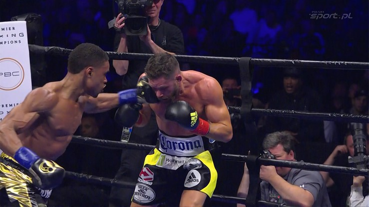 2016-04-17 Errol Spence Jr - Chris Algieri. Skrót walki